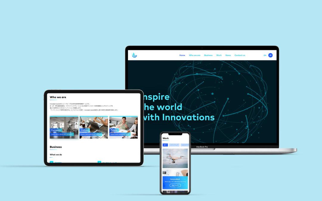 Innovatech studio Brand Identity